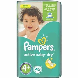 PAMPERS VP MAXI PLUS 45/3
