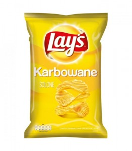 LAYS KARBOWANE SOLONE 140G