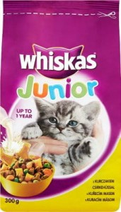 WHISKAS JUNIOR 300G