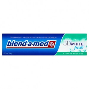 Blend-a-med 3D White Fresh Extreme Mint Kiss Wybielająca pasta do zębów 100 ml