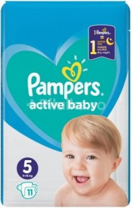 Scutece Pampers Active Baby 5. Junior small pack, 11 SZT