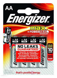 BATERIE ENERGIZER MAX AA E91